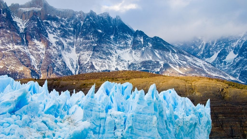 Chile, espectaculares glaciares