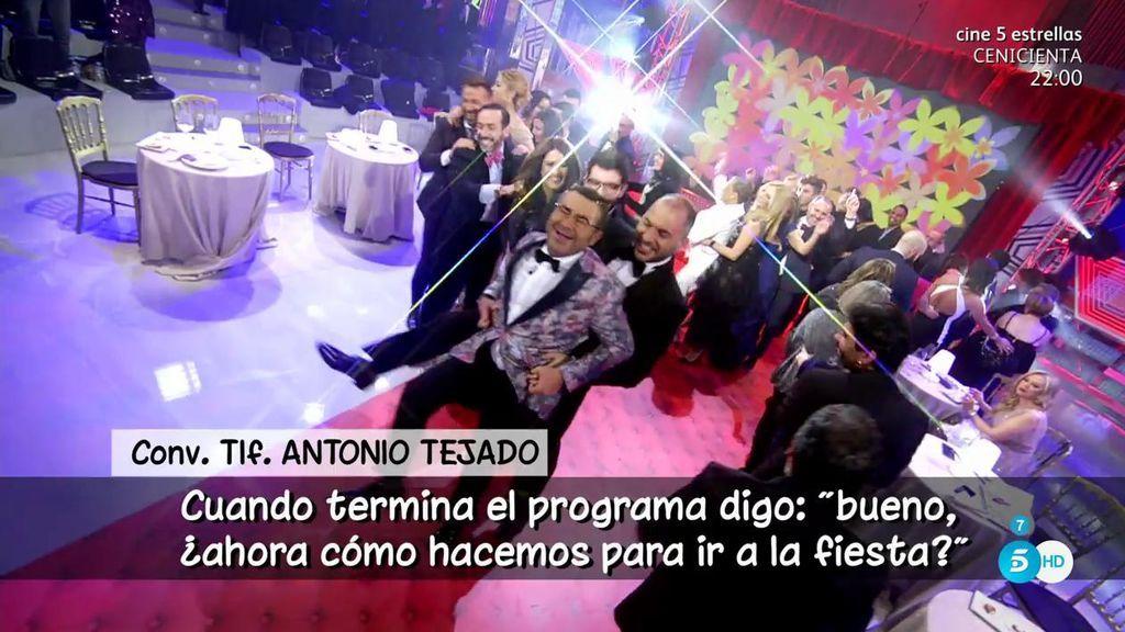 Rafa Mora y Antonio Tejado se mosquean con los colaboradores y ellos responden con una conga