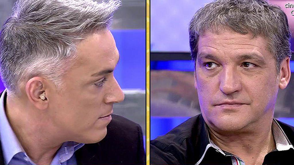 """Kiko Hernández, a Gustavo Gónzalez: """"Ayer cortaste con María Lapiedra"""""""