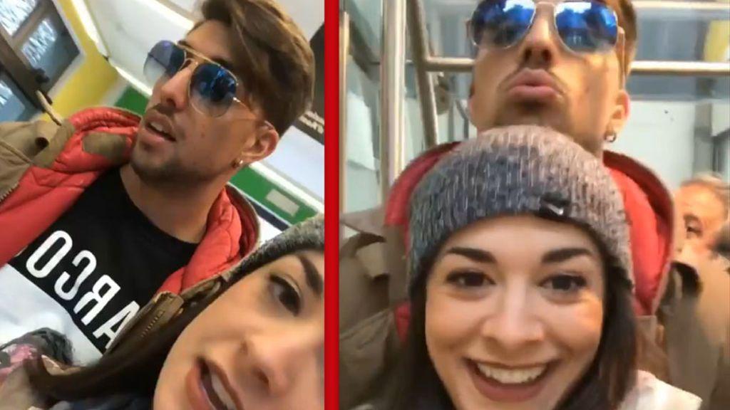 ¿Vacaciones de cine? ¡El 'planazo' navideño de Ruth Basauri y su novio en Italia!