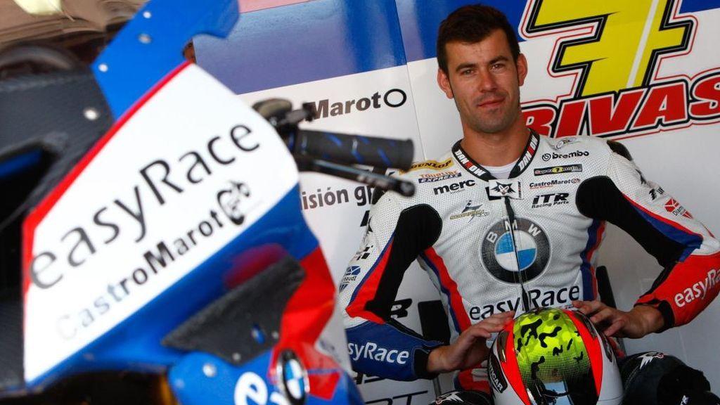 Aleix Espargaró aprovecha su viaje a Galicia para rendir homenaje a Dani Rivas, piloto fallecido en Laguna Seca