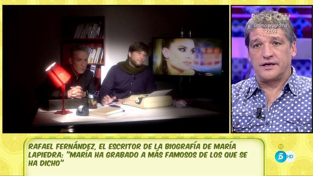 """Rafael Fernández: """"Según María la exmujer de Gustavo lo sabía todo desde el principio"""""""
