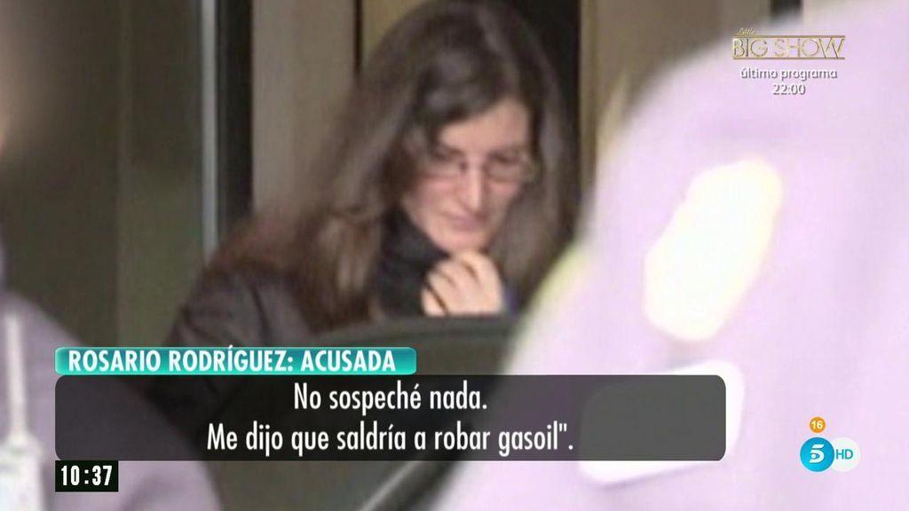 """Declaraciones de la mujer de 'El Chicle' ante el juez: """"Me dijo que se iba a robar gasoil. No sospeché nada"""""""