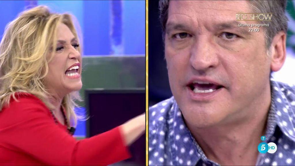 """El monumental enfado de Gustavo con Lydia: """"Tus amigos tienen dos neuronas"""""""