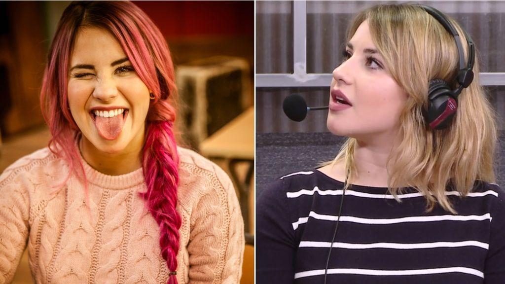 "Lucía Gil: ""Me gustó teñirme de rosa, no aguanto más de dos meses con el mismo pelo"""