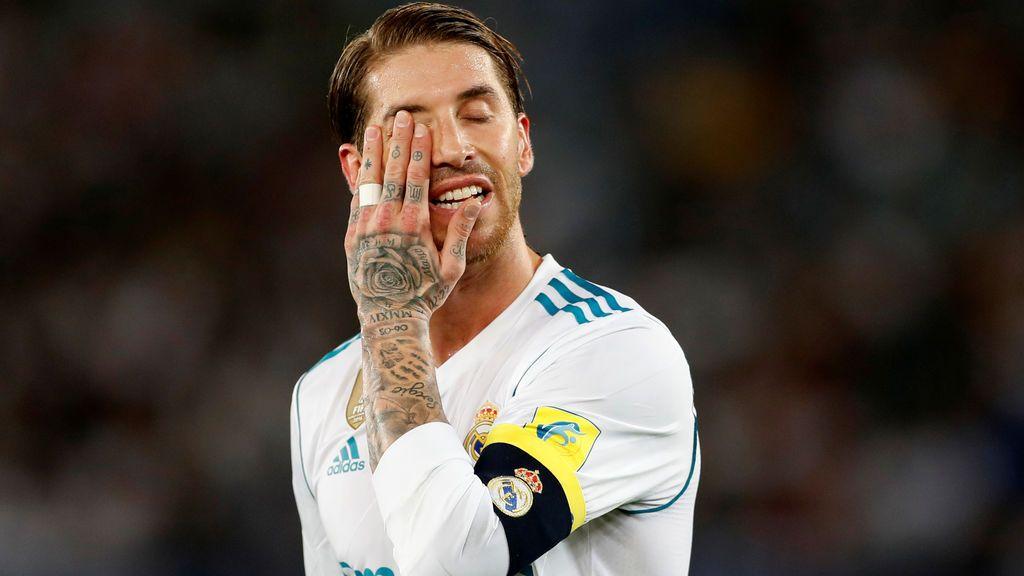 Sergio Ramos estará de baja 15 días por una lesión en el sóleo