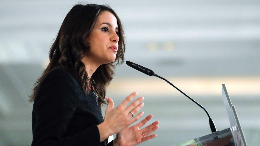 """Arrimadas ve """"muy difícil"""" su investidura aunque los electos en Bélgica podrían dejar en minoría al soberanismo"""