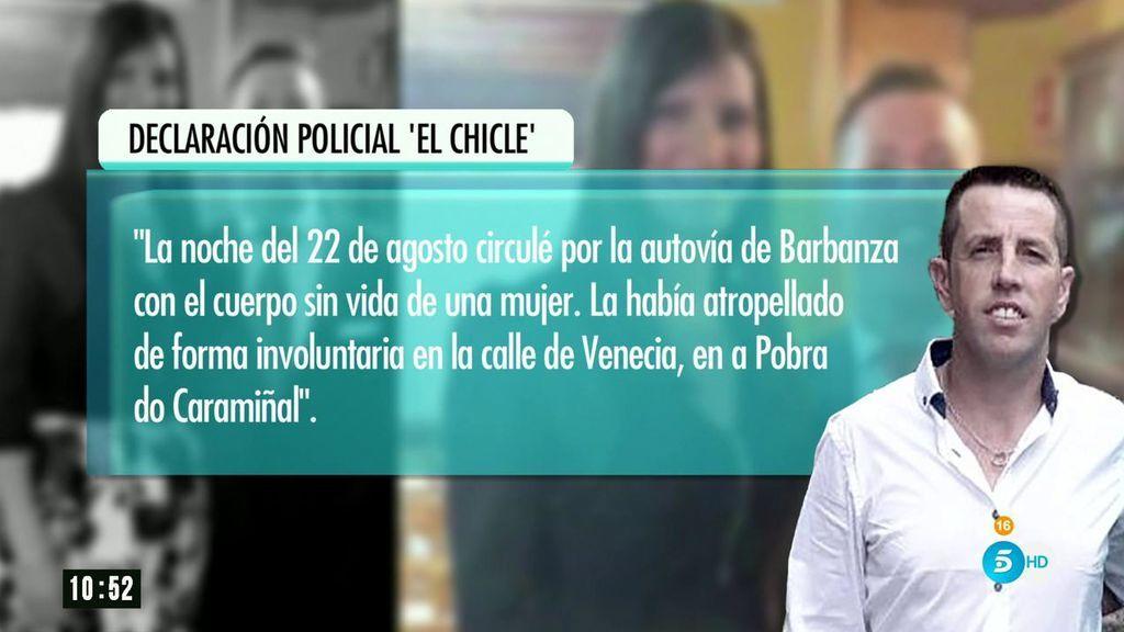 """'AR' accede en exclusiva a la declaración policial de 'El Chicle': """"Supe que era Diana cuando vi sus fotos por televisión"""""""