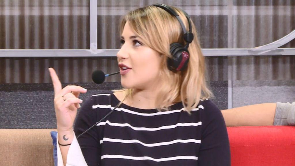 """Lucía Gil, sobre si se ha enamorado de algún profesor: """"Por supuesto, a mí me gustan mayores"""""""