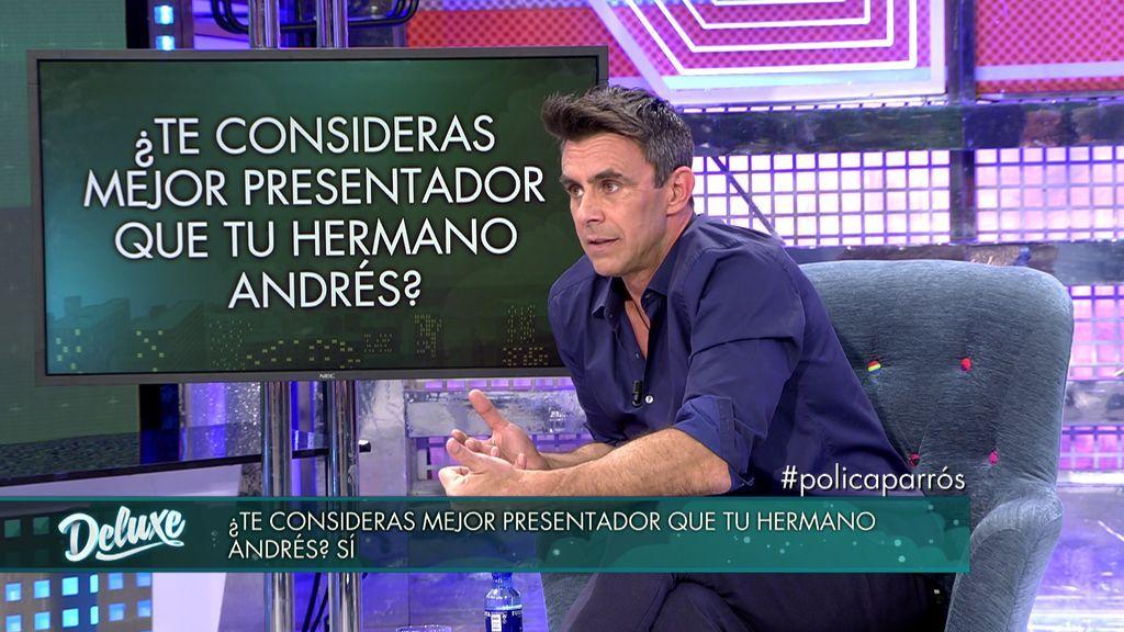 """Alonso Caparrós se considera mejor presentador que su hermano Andrés: """"No es natural"""""""