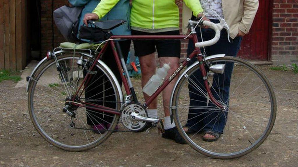 Movilización para encontrar la bicicleta del año 1949 de un anciano ciclista de 88 años