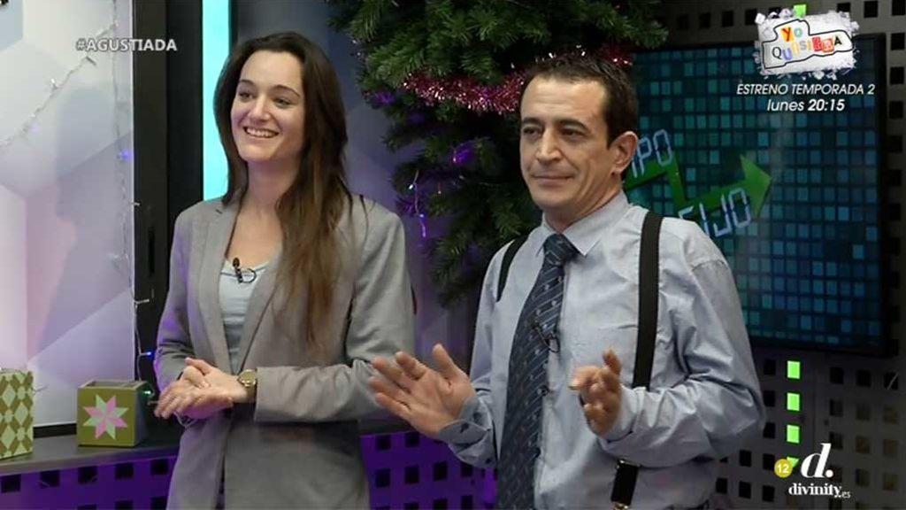 Los momentazos de los economistas virales, Silvia Charro y Simón Pérez, como nuevos colaboradores de 'Cazamariposas'