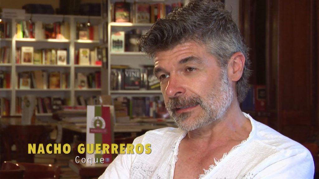 """Nacho Guerreros (Coque): """"Lo más surrealista que he hecho en la serie fue en una boda medieval"""""""