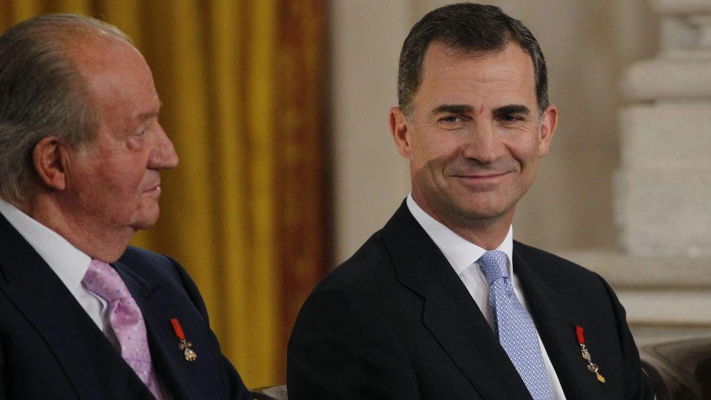 El Rey preside la Pascua militar, la primera a la que acudirá Juan Carlos I desde su abdicación