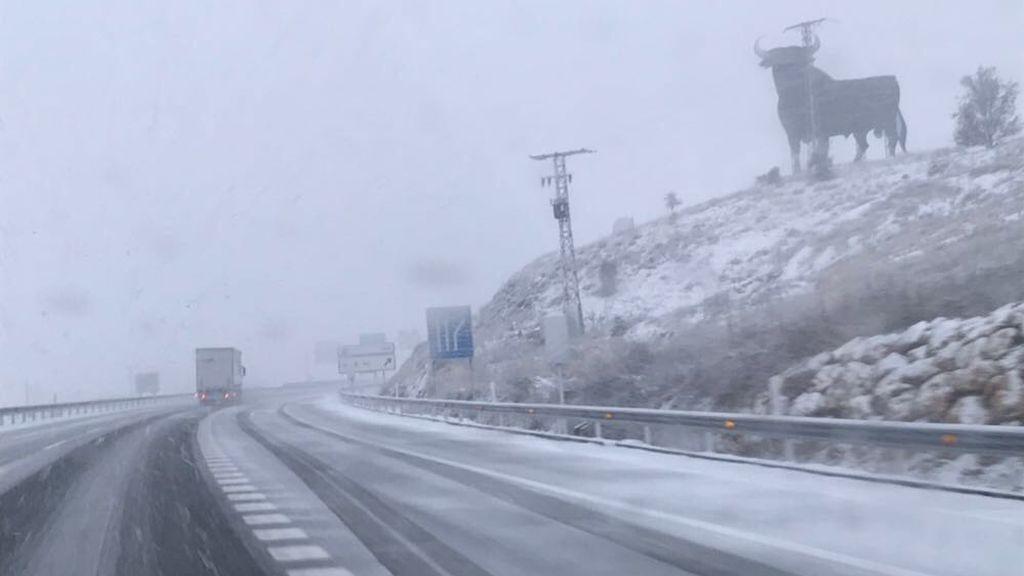 Carretera A2 entre Guadalajara y Soria
