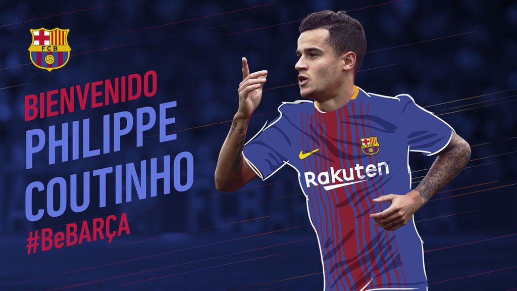 ¡Ya es oficial! Coutinho ficha por el Barcelona hasta 2023