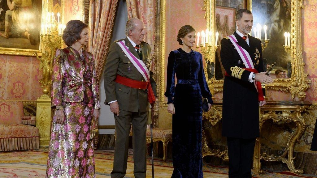 La Pascua Militar da el pistoletazo de salida a los homenajes por el 80 cumpleaños del Rey Juan Carlos