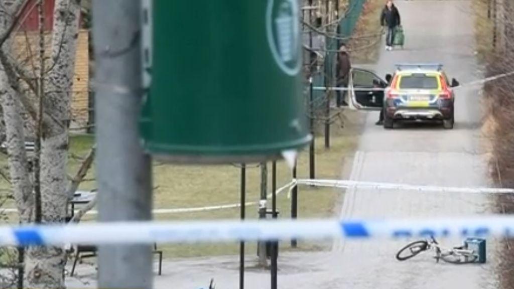 Dos heridos en una explosión en Estocolmo