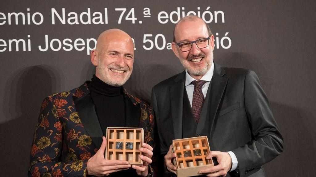 Alejandro Palomas, 74 Premio Nadal con la novela familiar 'Un amor'