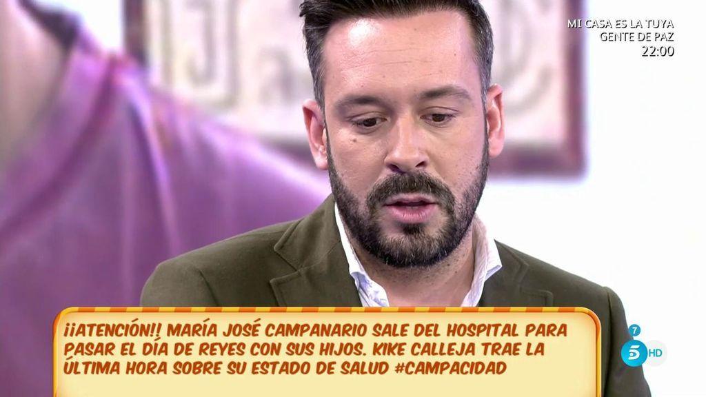 """Kike Calleja, sobre Campanario: """"Están pensando en ingresarla de nuevo porque no ha conseguido superar el problema"""""""
