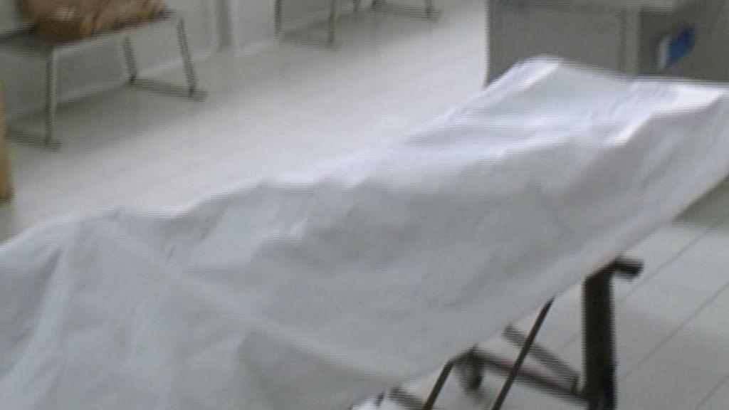 Roncando antes de practicarle la autopsia