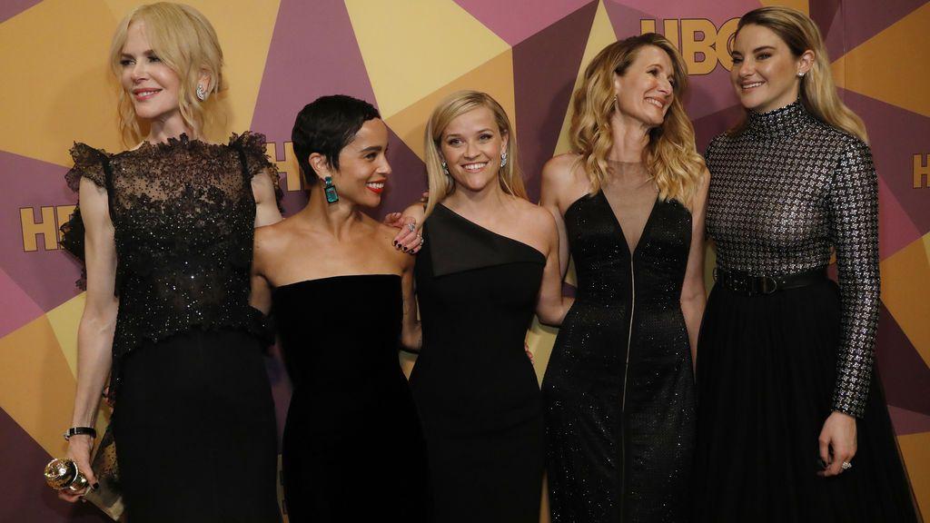 Los Globos de Oro más reivindicativos tiñen Hollywood de negro