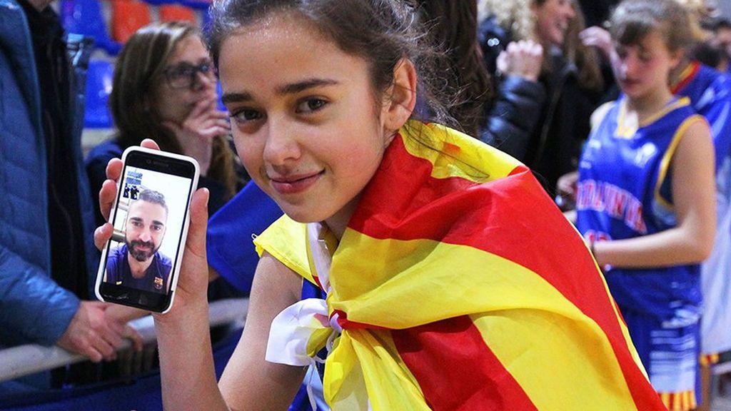 De tal palo, tal astilla: Lucía Navarro, la hija de 'La Bomba', campeona de España infantil de baloncesto