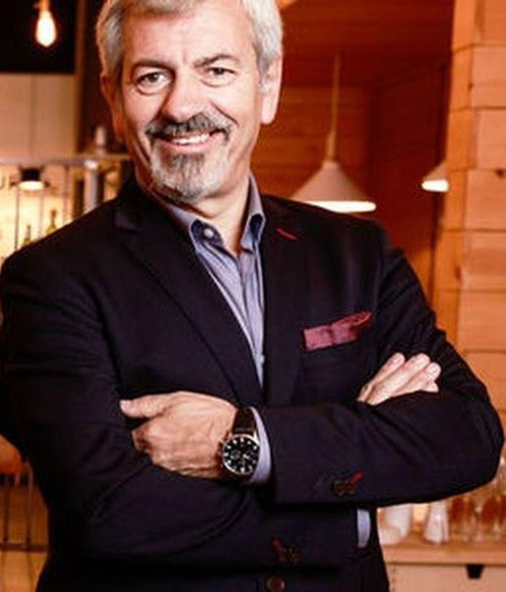 'First dates' - Carlos Sobera y el equipo del restaurante