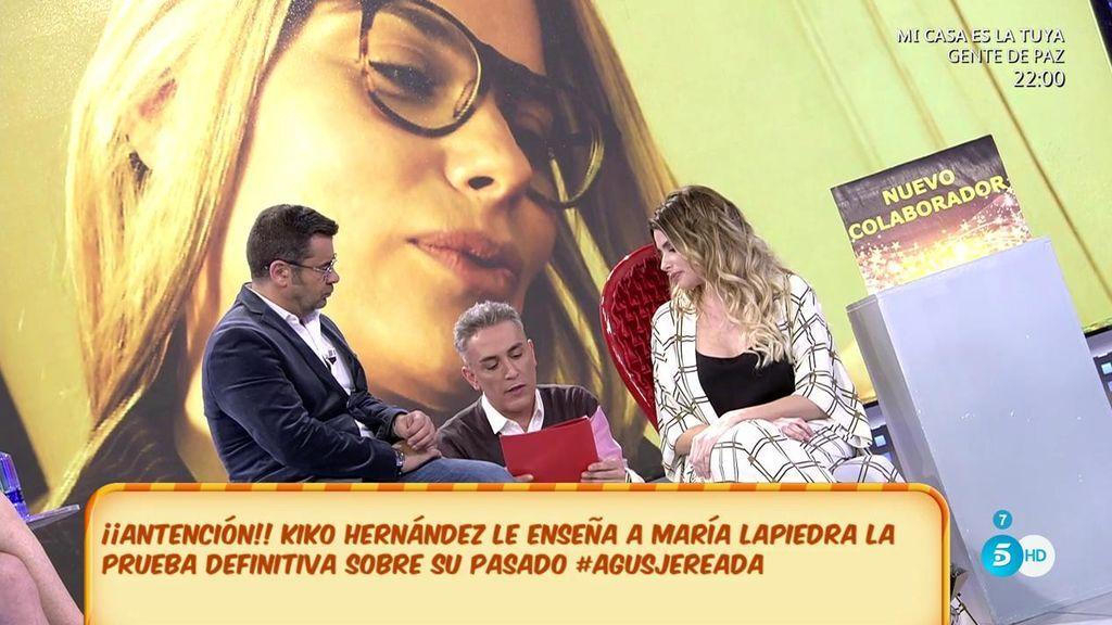 """María Lapiedra resuelve el enigma y niega un trabajo oculto: """"Hablaba y hacía striptese en webcams"""""""