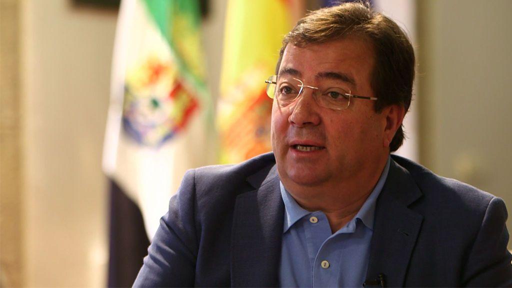 El Presidente de Extremadura defiende la Isla de Valdecañas y confía en que no habrá demolición