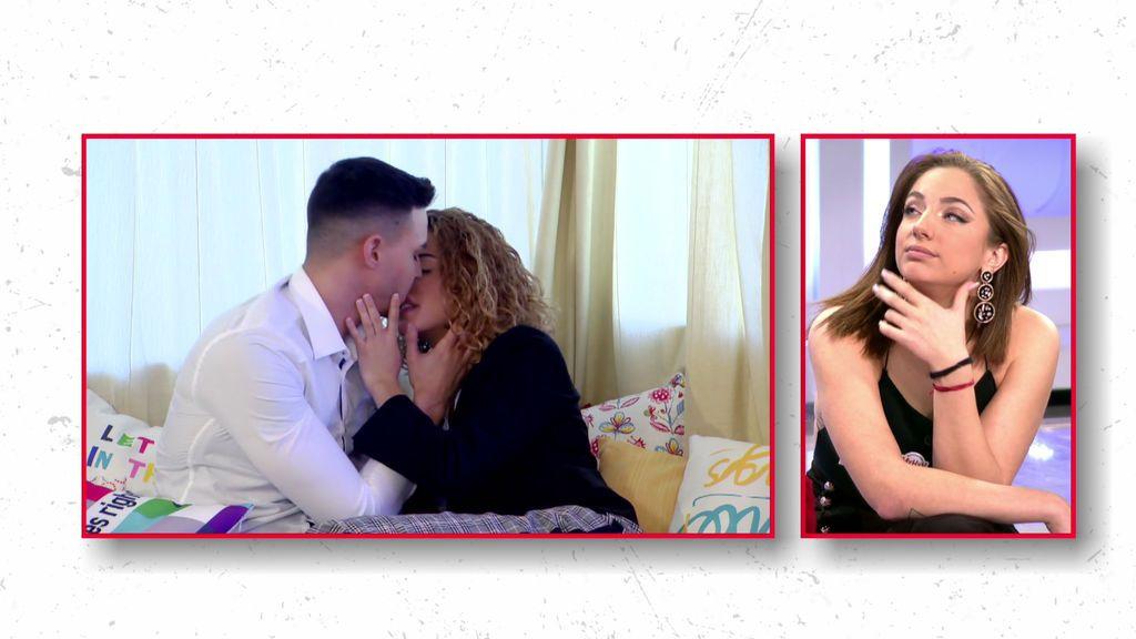Cita Iván y Dafne: besos y mucha atracción