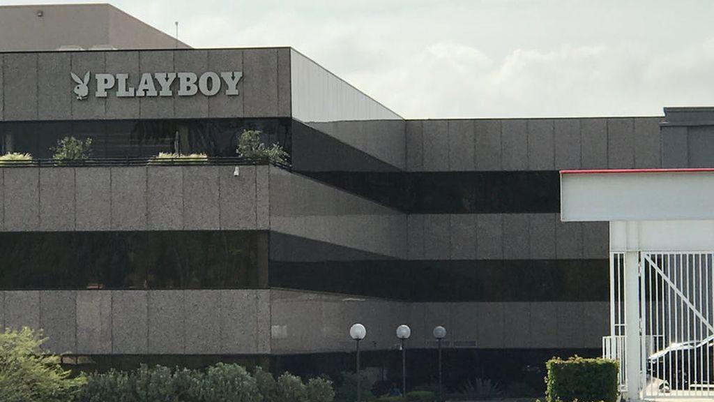 Sede de 'Playboy' en Los Ángeles, Estados Unidos.
