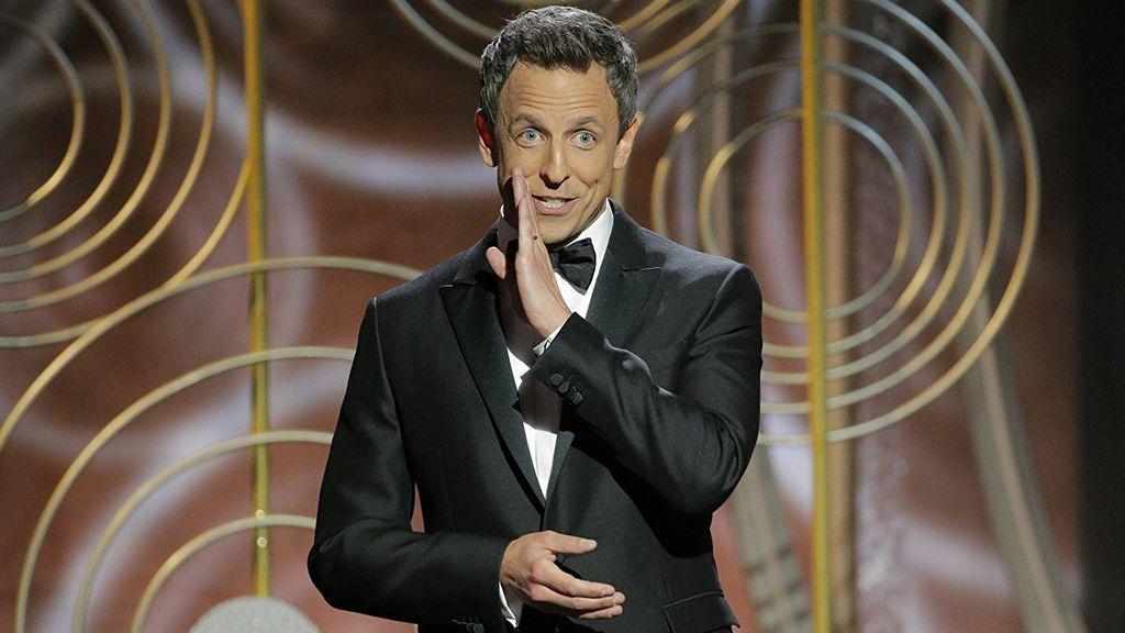 Seth Meyers, presentador de la 75º edición de los Globos de oro.