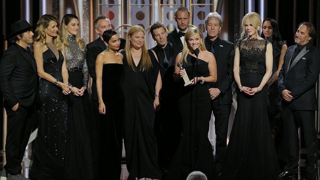 El reparto de 'Big little lies' recoge el Globo de oro a mejor miniserie.