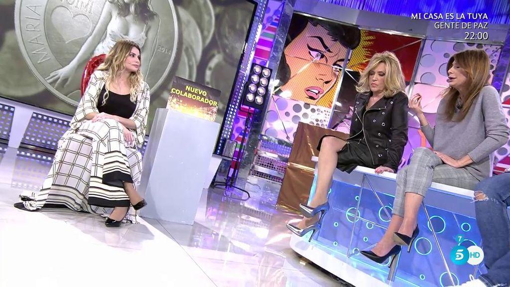 María Lapiedra asegura que Gustavo González confía ciegamente en ella