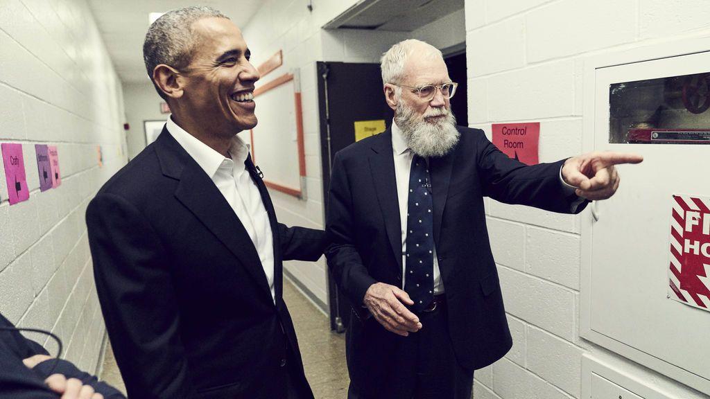 David Letterman regresa al plató con personajes que 'No necesitan presentación'