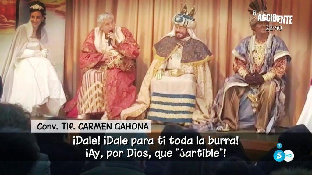 "Carmen Gahona, sobre la polémica de Chiquetete: ""¡Qué pesados sois! ¡No ha pasado nada, hombre! """