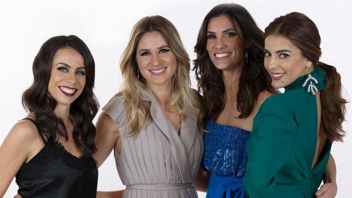 Filomena Cautela, Sílvia Alberto, Daniela Ruah y Catarina Furtado, presentadoras del Festival de Eurovisión 2018.