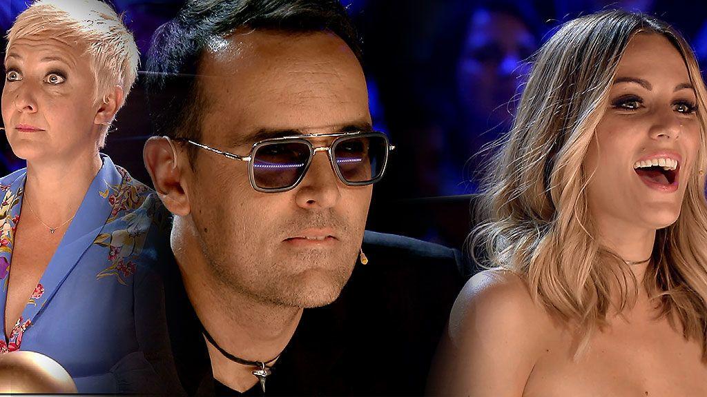 Emoción, sorpresa, incredulidad, alucinación… Las reacciones del jurado ante las nuevas actuaciones de 'Got Talent'