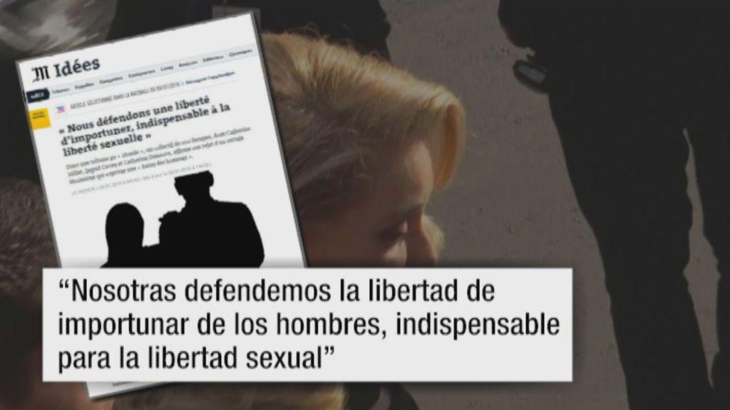 """Catherine Deneuve asegura que los hombres deben tener """"libertad de molestar""""a las mujeres"""