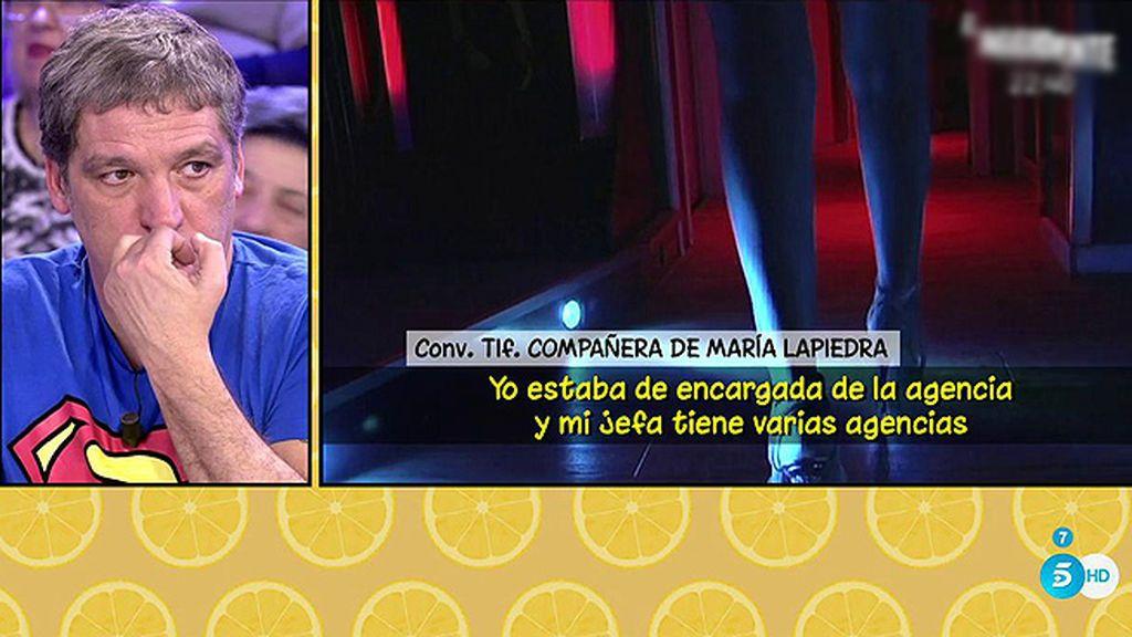 Según una trabajadora de una empresa de Sevilla, María Lapiedra habría cobrado 8.000€ por ir a una cena