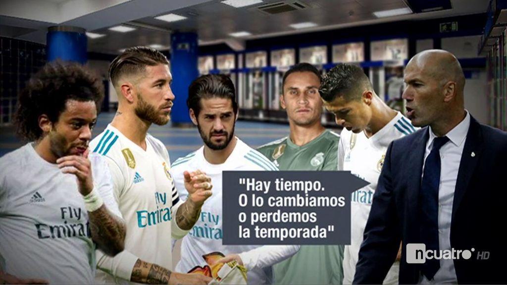 Gabinete De Crisis En El Vestuario Del Real Madrid La