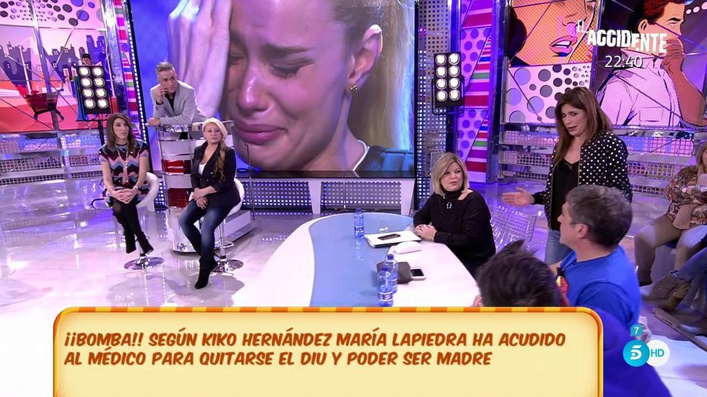 """Gema López, a Gustavo González: """"¿Tú te crees todas las chorradas que te cuenta María?"""""""