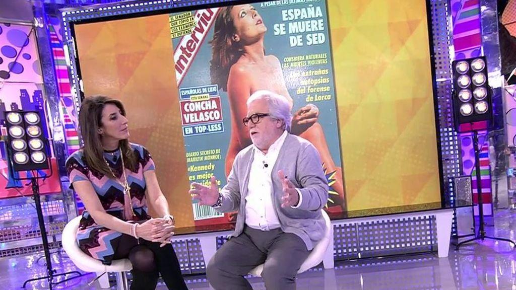 "Pepe Rielo, exdirector gerente de 'Interviú': ""Lola Flores cobró 6 millones de pesetas por su portada"""