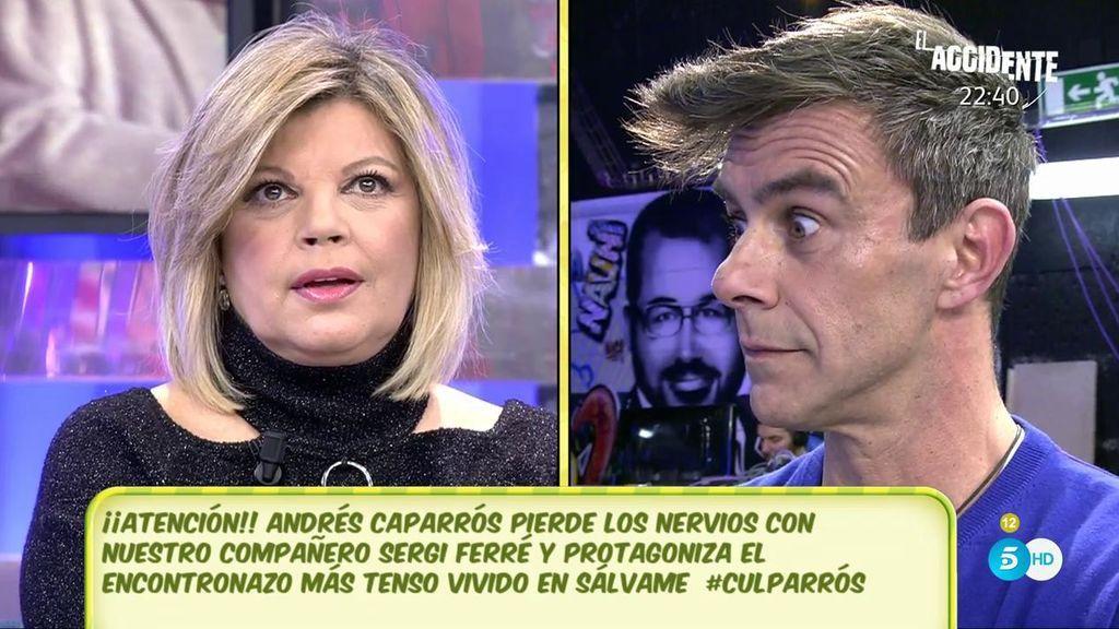 "Terelu Campos: ""Andrés Caparrós me ha dicho que están sobrepasados"""