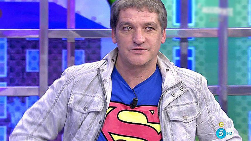 Gustavo González quiere ser un 'Superman' para sus hijos