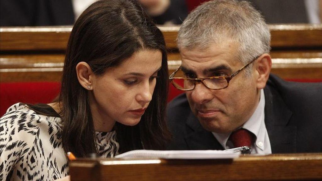 """Ciudadanos descarta optar a la presidencia tras el """"portazo"""" de CatECP"""