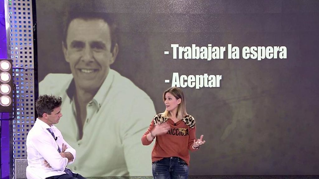 Cristina Soria le da a Alonso Caparrós las claves para solucionar sus problemas familiares