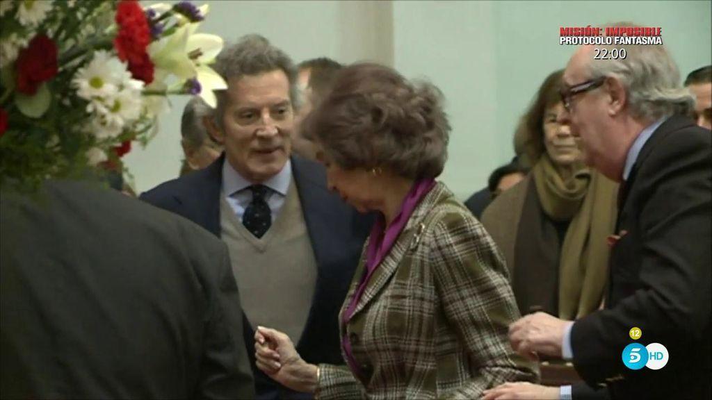 La Reina Sofía y Alfonso Díez tendrían una amistad especial, según Pilar Eyre