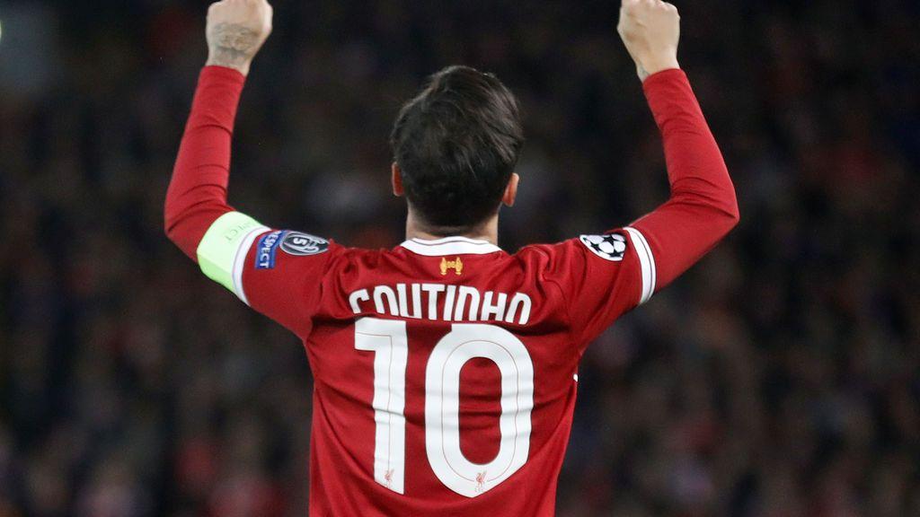 El Liverpool da un vale de 63 euros a todos los fans que compraron la camiseta de Coutinho de esta temporada